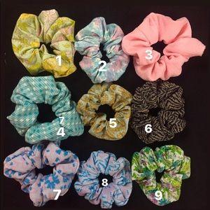 10 Scrunchies Vintage Scrunchies Box